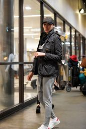 Gal Gadot Travel Outfit - LAX Airport in LA 1/6/ 2017