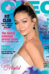 Gigi Hadid - Cleo Singapore February 2017 Issue