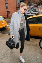 Gigi Hadid - Out in New York 1/24/ 2017