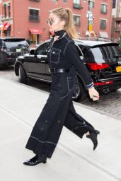 Gigi Hadid - Out in New York City 01/14/ 2017