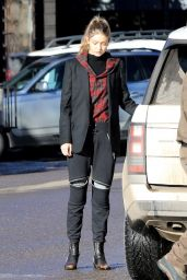 Gigi Hadid Street Style - On Vacation in Aspen 12/30/ 2016