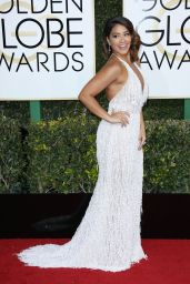 Gina Rodriguez – Golden Globe Awards in Beverly Hills 01/08/ 2017