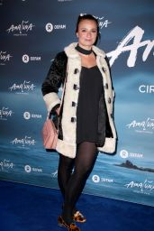 Gizzi Erskine – Cirque du Soleil 'Amaluna' Press Night in London 1/12/ 2017