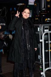 Gloria Estefan & Ana Villafane - Times Square New Years Eve 2017 in NYC 12/31/ 2016