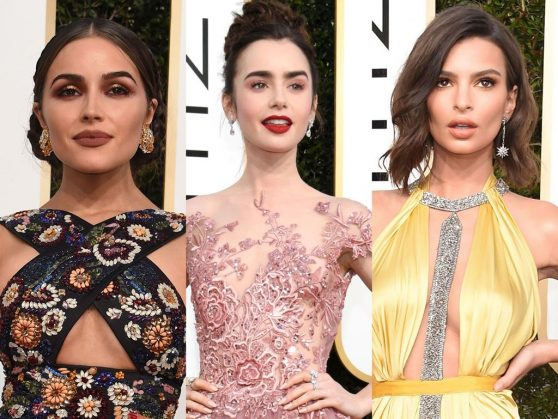 Golden Globes 2017: Red carpet beauty looks