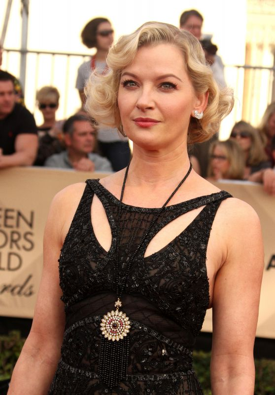 Gretchen Mol – SAG Awards in Los Angeles 1/29/ 2017