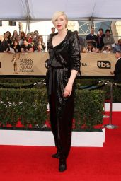 Gwendoline Christie – SAG Awards in Los Angeles 1/29/ 2017