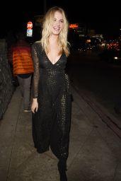 Hailey Clauson – W Magazine Pre Golden Globe Party in LA 1/5/ 2017