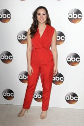 Hayley Orrantia - TCA Winter Press Tour in Pasadena 1/10/ 2017