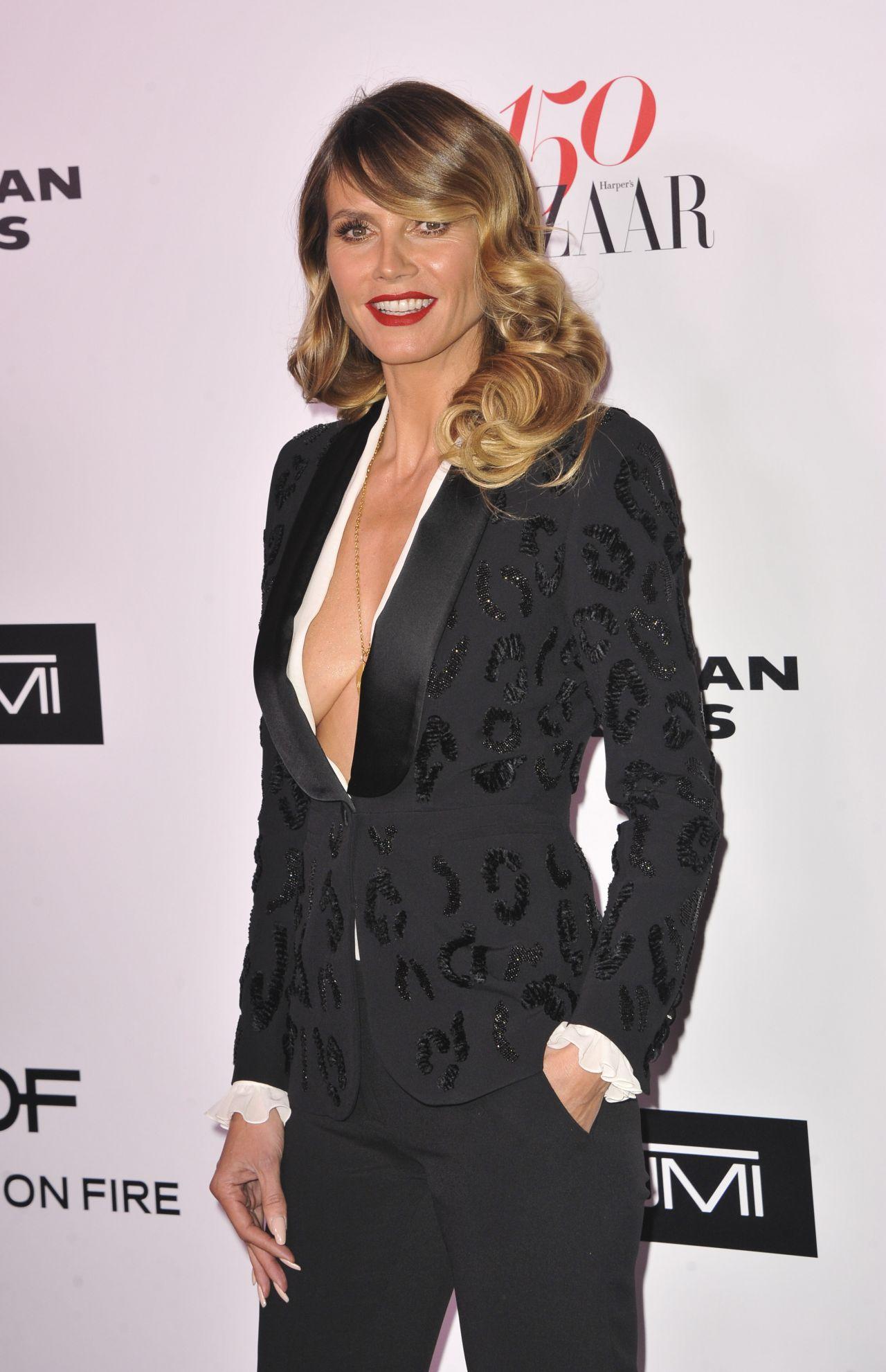 Heidi Klum – Harper's Bazaar 150 Most Fashionable Woman Cocktail Party in LA 1/27/ 2017