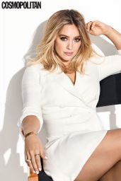 Hilary Duff - Cosmopolitan Magazine USA February 2017 Issue