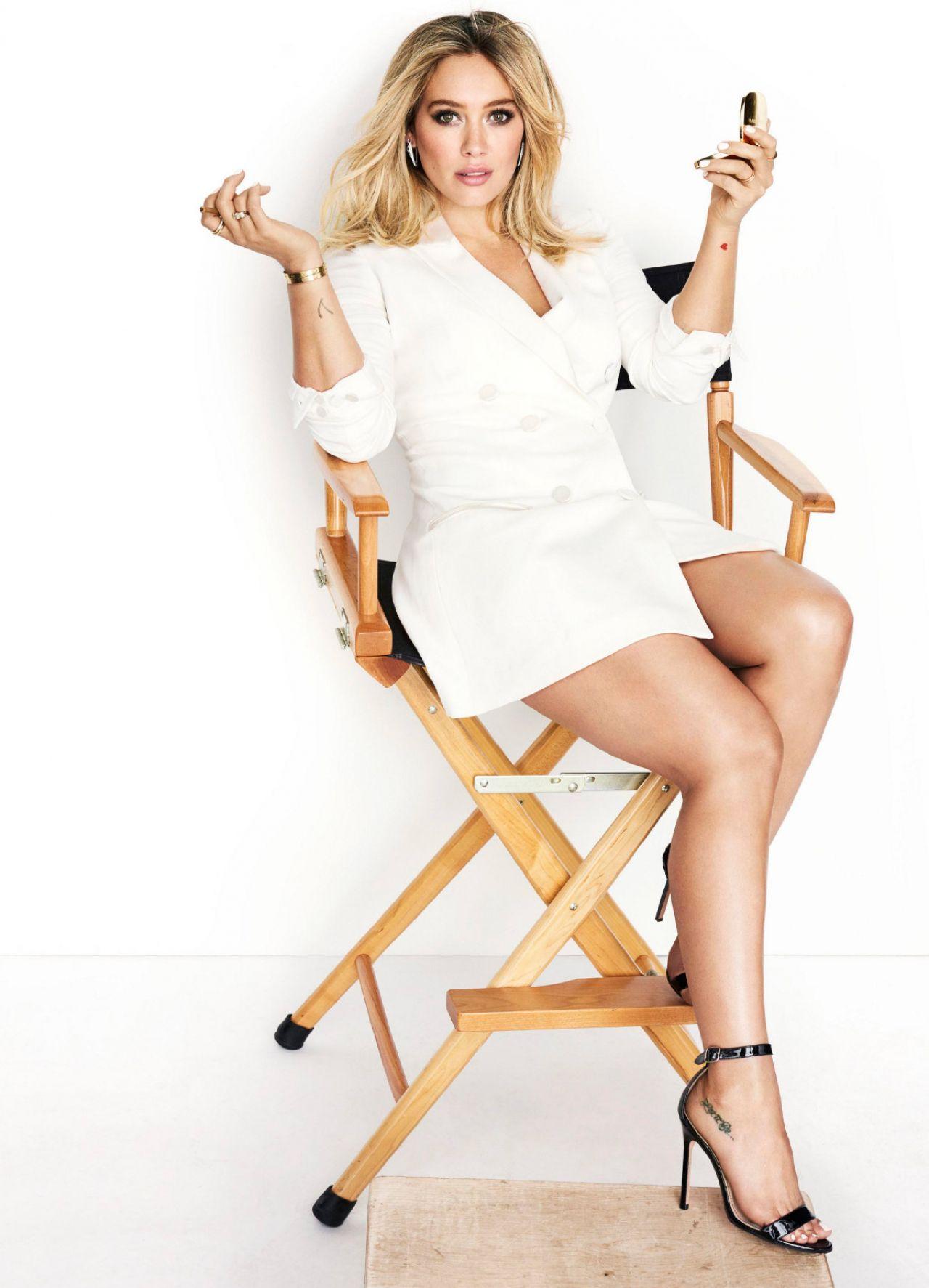 Hilary Duff Cosmopolitan Feb 2017