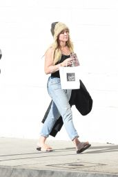 Hilary Duff in Ripped Jeans - Shopping in Studio City 1/6/ 2017