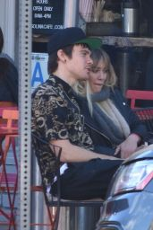 Hilary Duff - Out for Lunch in Santa Barbara 1/15/ 2017
