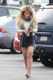 Hilary Duff - Out in Beverly Hills 1/9/ 2017