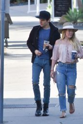 Hilary Duff - Out in Santa Barbara 01/15/ 2017