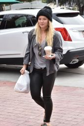 Hilary Duff - Out in Studio City 1/4/ 2017