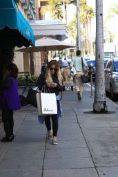 Hilary Duff - Shopping in Beverly Hills 1/11/ 2017