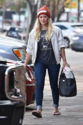 Hilary Duff Street Style - Studio City 1/13/ 2017