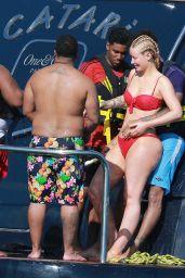 Iggy Azalea in Red Bikini - Cabo San Lucas Mexico 1/22/ 2017
