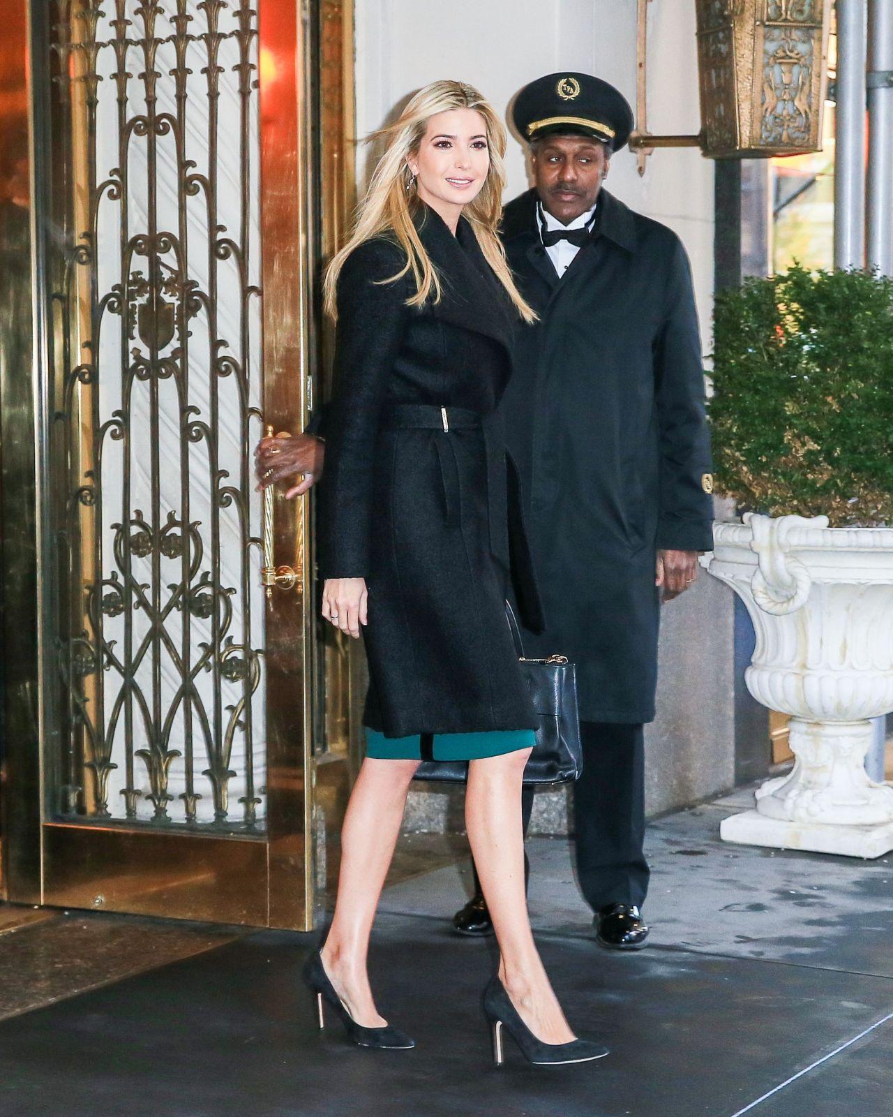 Ivanka Trump - Heads To Work in New York 1/11/ 2017
