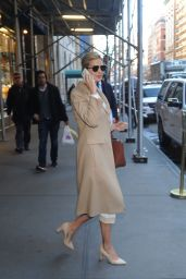 Ivanka Trump - Heads to Work While On Her Cell Phone in New York 1/12/ 2017