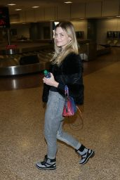 Jaime King - Arrives at Salt Lake City in Utah 1/18/ 2017