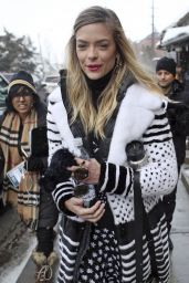 Jaime King - Out and About in Park City, Utah 1/20/2017