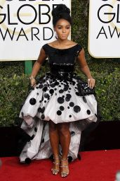 Janelle Monae – Golden Globe Awards in Beverly Hills 01/08/ 2017