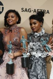 Janelle Monae – SAG Awards in Los Angeles 1/29/ 2017