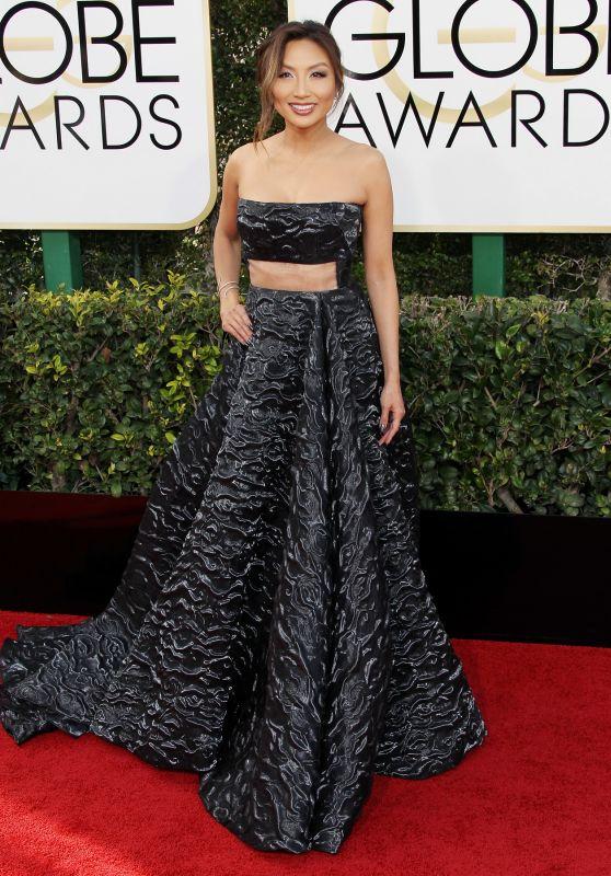Jeannie Mai – Golden Globe Awards in Beverly Hills 01/08/ 2017