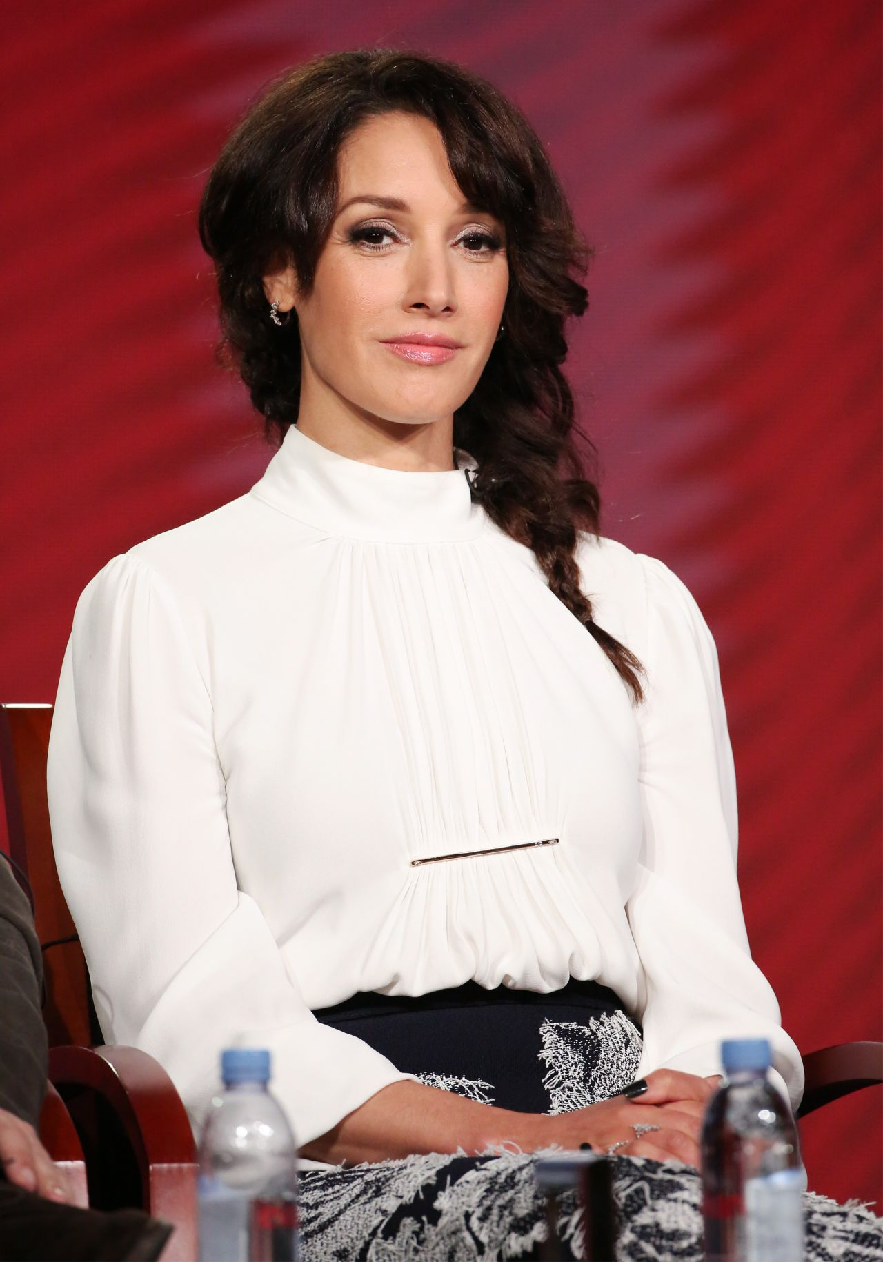 Jennifer Beals Nbc S Taken Panel Tca Winter Press