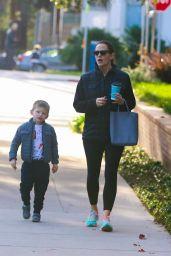 Jennifer Garner With Her Kids - Los Angeles 1/31/ 2017
