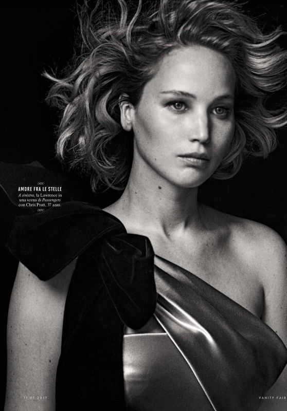 Jennifer Lawrence - Vanity Fair Italy January 2017 Issue