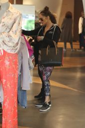 Jennifer Lopez in Spandex - Shopping in Beverly Hills 01/13/ 2017