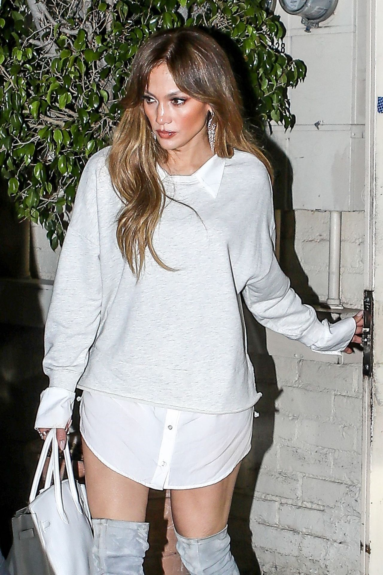 Jennifer Lopez leaving Tom Ford store in LA