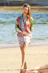Jessica Alba in Bikini on the Beach in Kauaʻi, Hawaii 01/01/ 2017