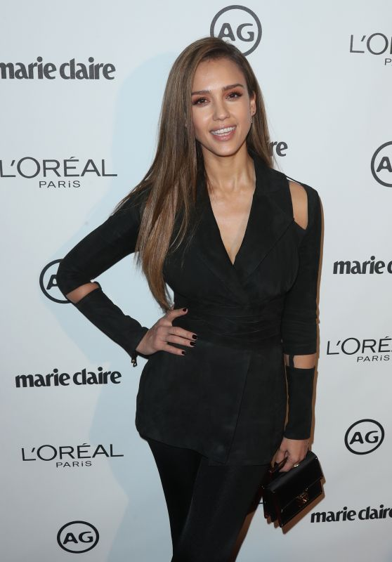 Jessica Alba – Marie Claire's Image Maker Awards in West Hollywood 1/10/ 2017