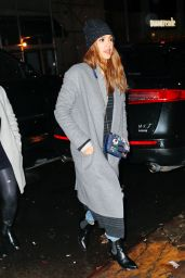 Jessica Alba - Out for Dinner in New York 1/24/ 2017