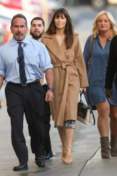 Jessica Biel at El Capitan Theatre in Hollywood For Jimmy Kimmel Live 1/11/ 2017
