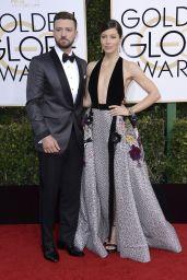 Jessica Biel – Golden Globe Awards in Beverly Hills 01/08/ 2017