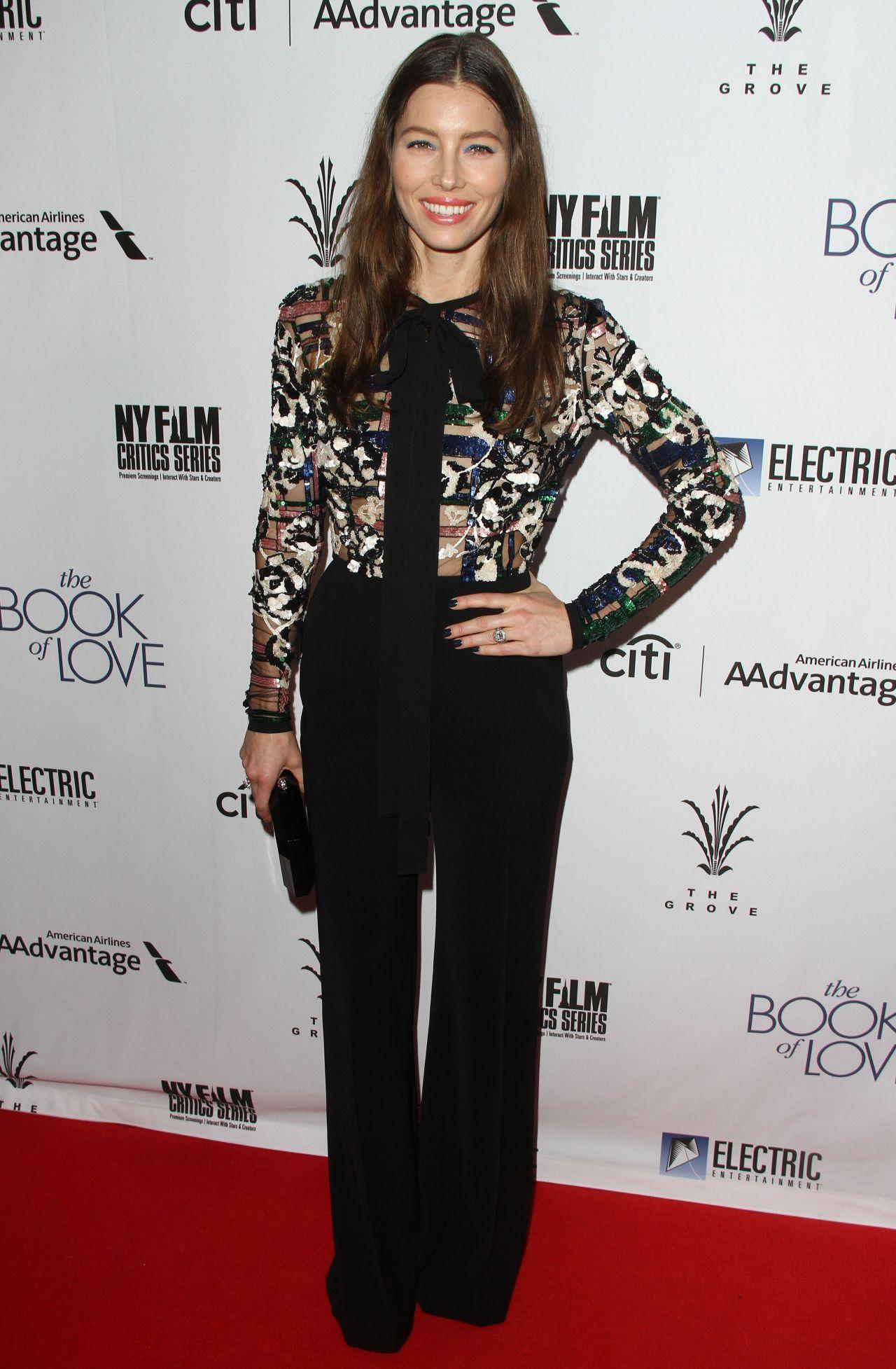 Jessica Biel Book of Love Premiere
