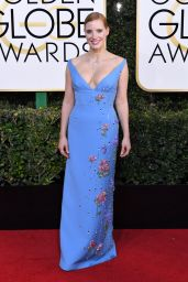 Jessica Chastain – Golden Globe Awards in Beverly Hills 01/08/ 2017