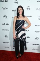 Jessica Paré – Marie Claire's Image Maker Awards in West Hollywood 1/10/ 2017