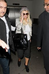 Jessica Simpson at LAX Airport in LA, January 2017