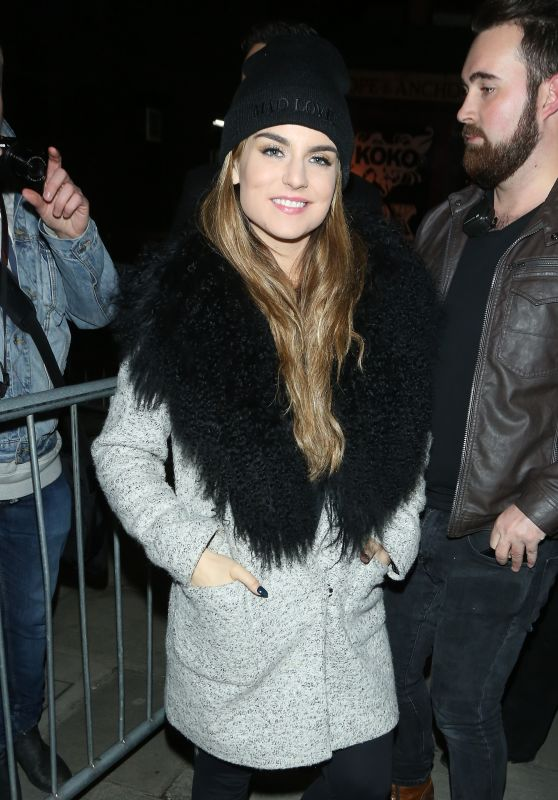 Joanna JoJo Levesque - Arrives For Gig Concert at KoKo in London 1/17/ 2017