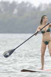 Joanna Krupa Bikini Photos - Paddleboarding Miami 1/3/ 2017