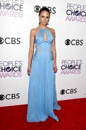 Jordana Brewster – People's Choice Awards in Los Angeles 1/18/ 2017