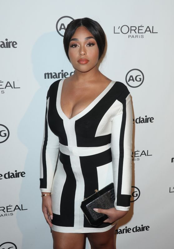 Jordyn Woods – Marie Claire's Image Maker Awards in West Hollywood 1/10/ 2017