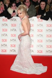 Jorgie Porter – National Television Awards in London 1/25/ 2017